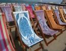 Deckchair opening, Weymouth Beach