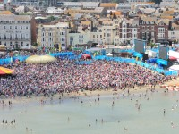 Weymouth Beach 2012 by Alan Rogers